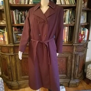 Ladies Union Made VTG Coat Zip Out Liner